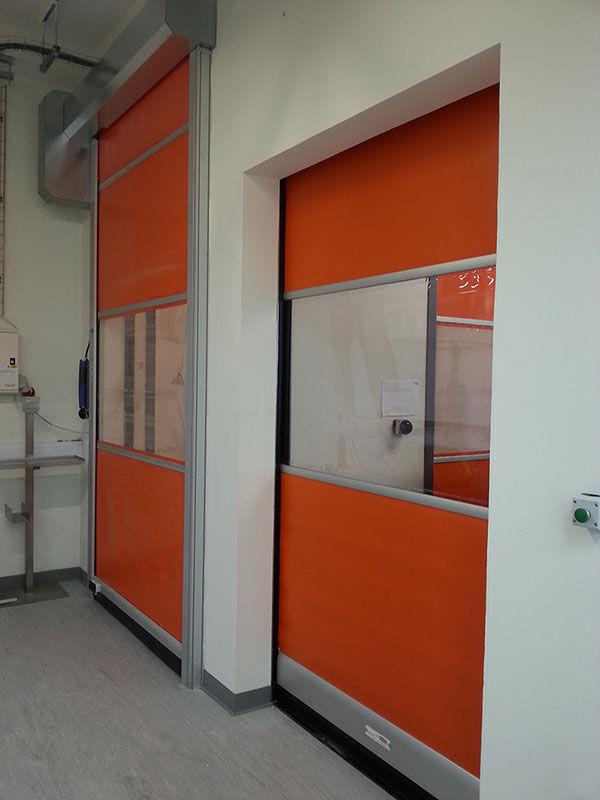 orange roller doors