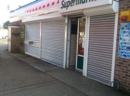 roller shutter door for supermarket
