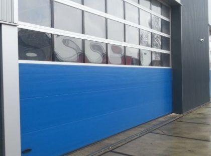 sectional industrial door