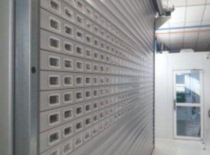 insulated shutter