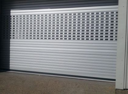 insulated shutter door