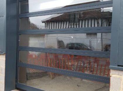 horizontal Glazed Sectional Doors