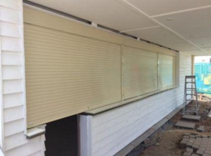 aluminium servery shutters