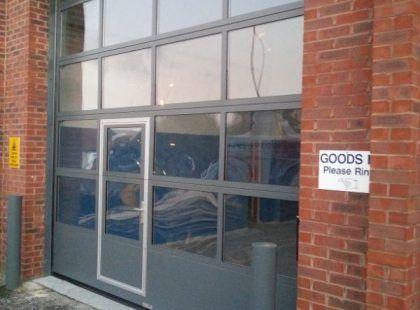 Glazed Sectional Door