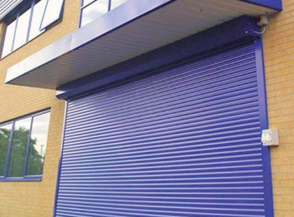 roller shutters box