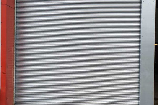 grey Industrial Roller Shutters in Hampshire