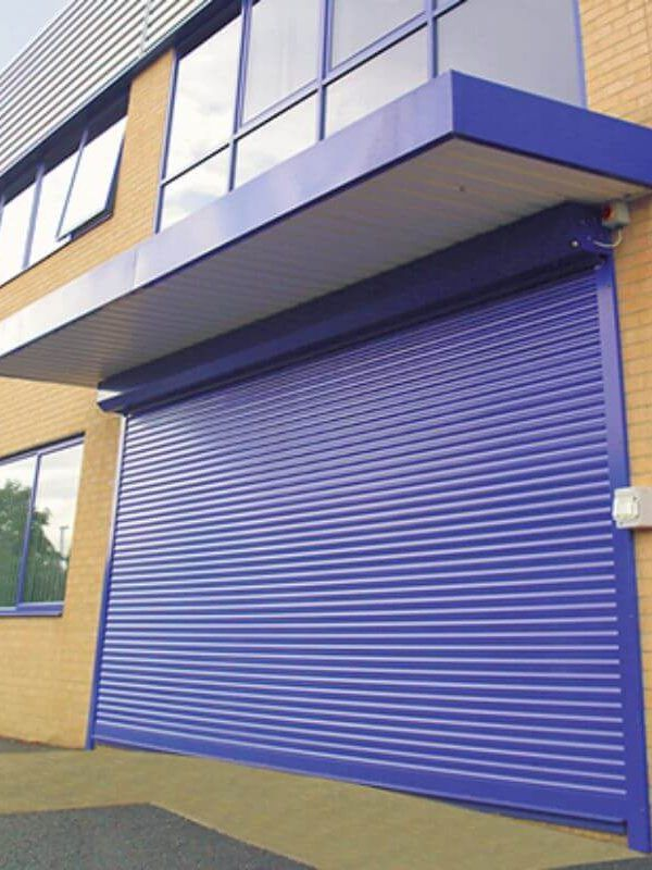 Pictured one of the finest insulated roller shutters Southampton has to offer.