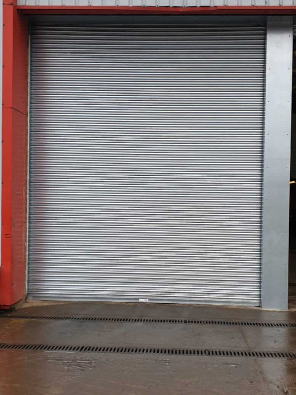 One of our insulated roller shutters in Southampton.